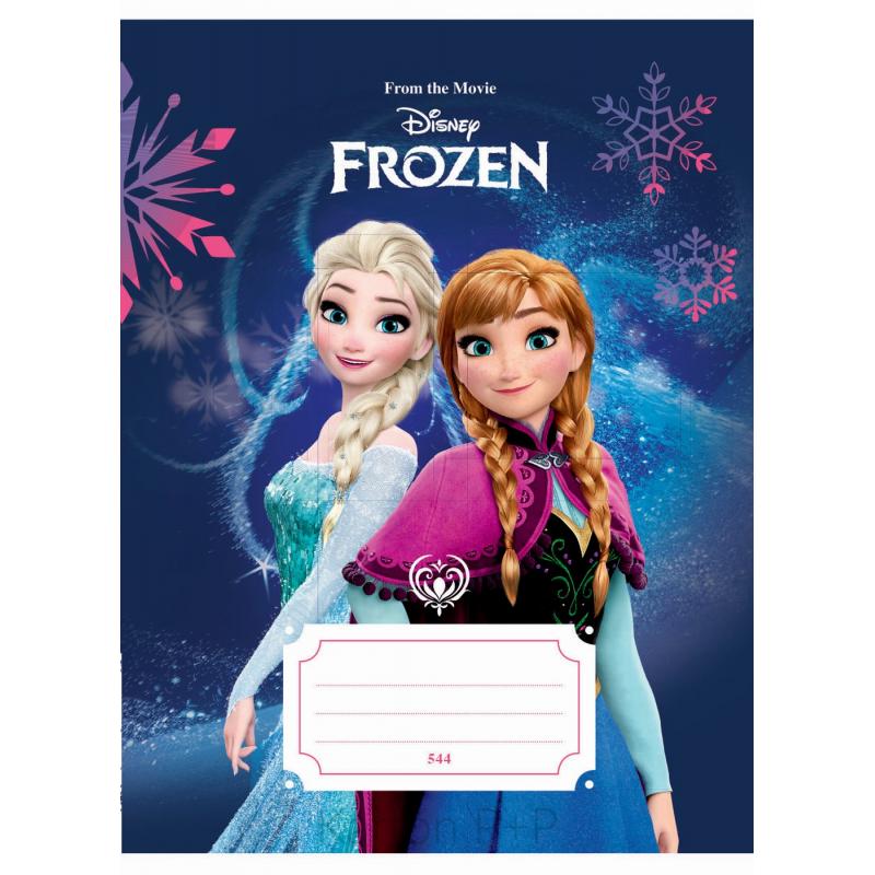 Sešit A5, 544, 40listů Frozen 7-485