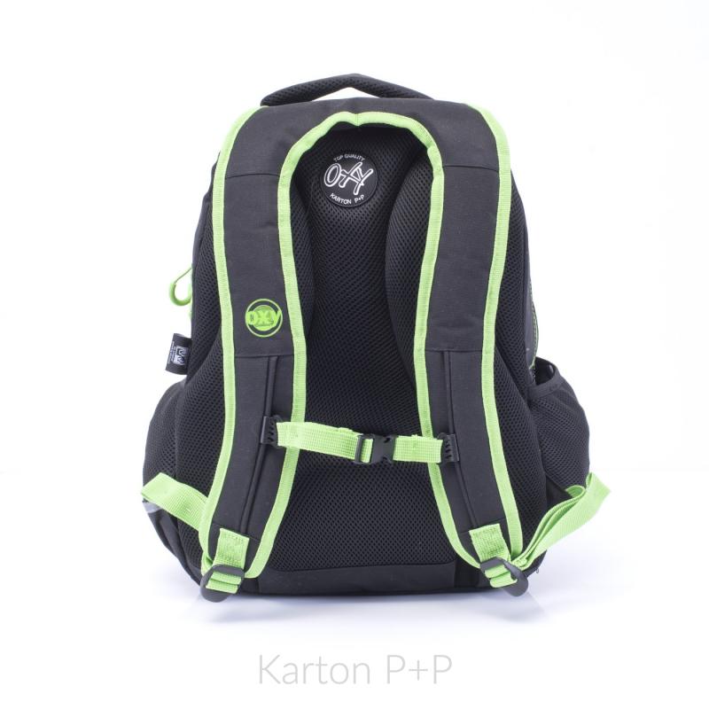 Studentský batoh OXY One Wind Green 7-70017