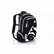 Anatomický batoh OXY Sport I. Black & White 7-70617
