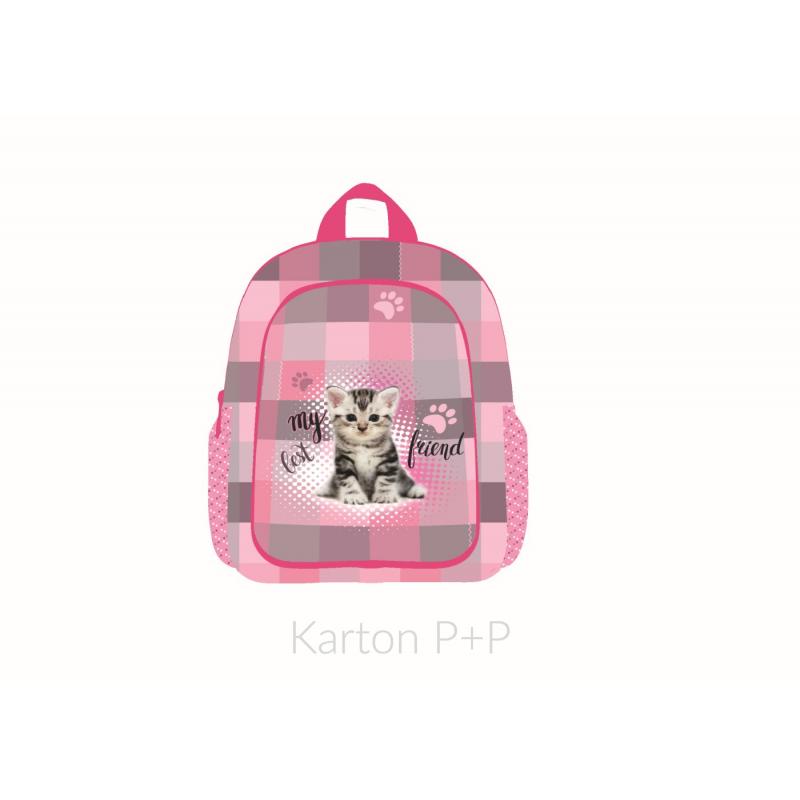 Batoh dětský předškolní junior kočka 3-20617