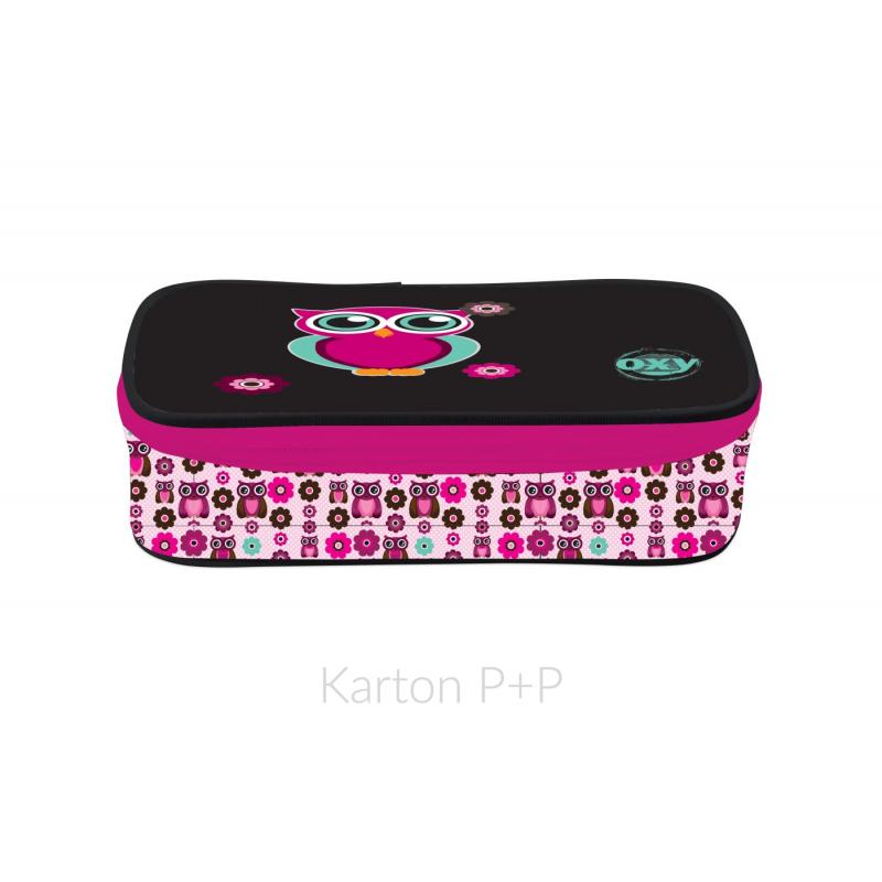 Pouzdro etue komfort OXY Pink Owl 3-37917