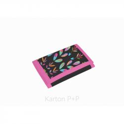 Detská textil.peňaženka Junior fashion kytky 1-82617