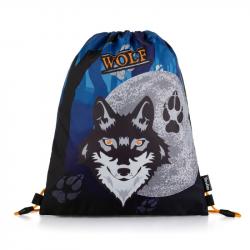 Sáček na cvičky vlk