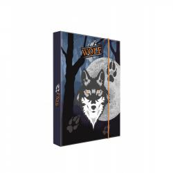 Box na sešity A4 vlk