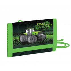 Detská textilná peňaženka traktor