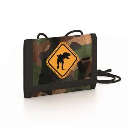 Detská textilná peňaženka T-Rex