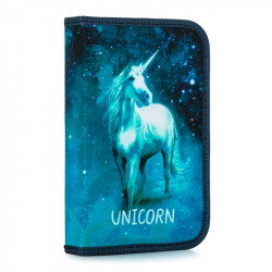 Penál 1 p. s chlopní, naplněný Unicorn 1