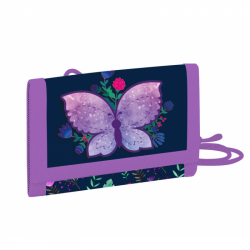 Detská textilná peňaženka Motýľ