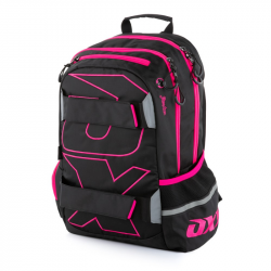 Plecak studencki OXY Sport BLACK LINE różowy