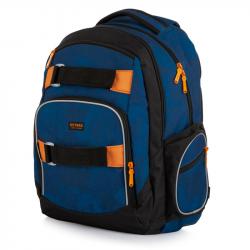 Plecak studencki OXY Style Camo niebieski