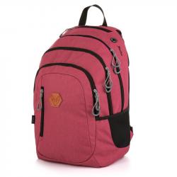 Studentský batoh OXY Campus red