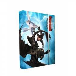Box na zošity A4 Ako vycvičiť draka