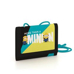 Detská textilná peňaženka Minions 2