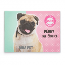 Dosky na číslice Isham - My love Pet