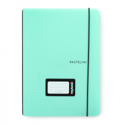 Sešit PP Oxybook A5 40 listů PASTELINI zelená