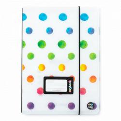Zošit PP Oxybook A5 40 listov OXY Style Mini Dots