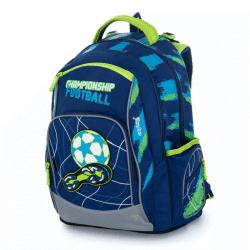 Plecak szkolny OXY Style Mini futbol niebieski