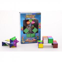Magická kostka 2v1