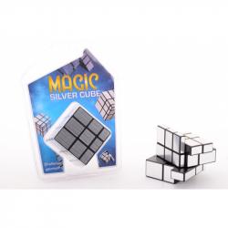Magická kocka strieborná
