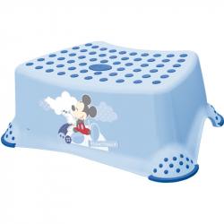 Stolička, schodík s protišmykovou funkciou - Mickey Mouse - modrá