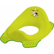 Adaptér - tréningové sedátko na toaletu Funny Farm - zelený