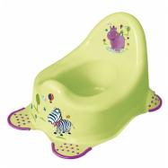 Nočník Hippo s protišmykovou úpravou - limetka