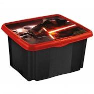 Box na hračky Star Wars 45 l - čierny