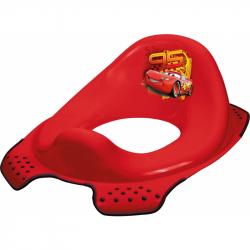Keeeper Adaptér - tréningové sedátko na toaletu Cars - červený