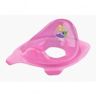 Adaptér - tréningové sedátko na toaletu Little Princess - ružová