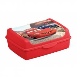 Desiatový box Cars 1 l - červený