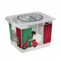 Plastový box Taliansko - 20,5l
