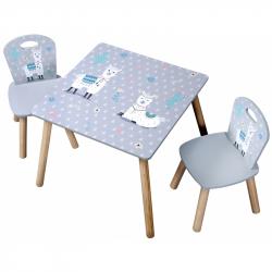 Dětský stůl s židlemi Lama