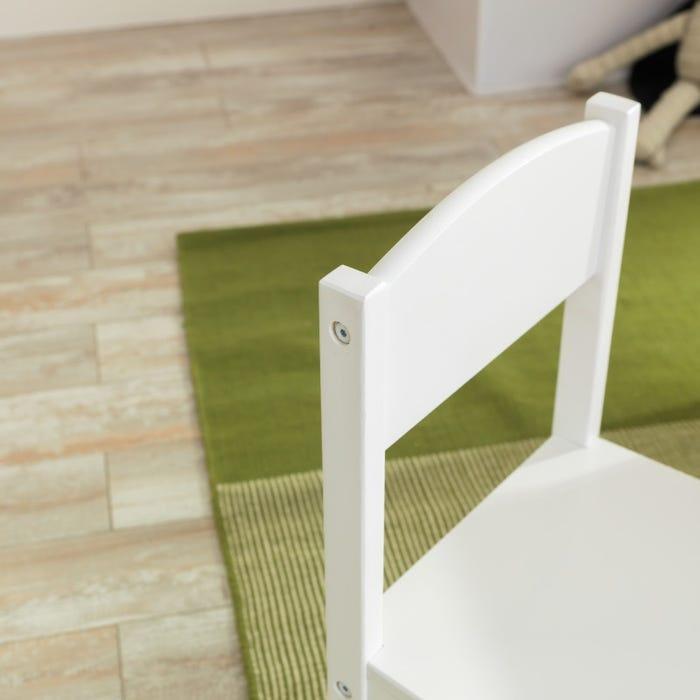 KidKraft Set stolu a 4 židlí Farmhouse bílé