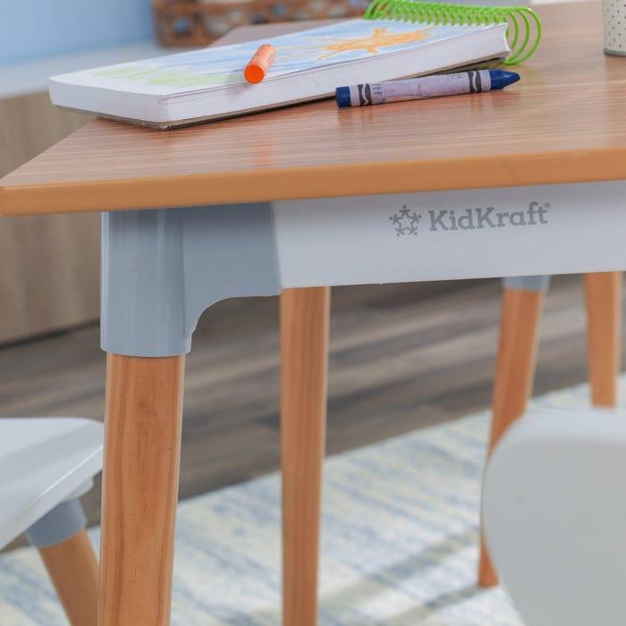 KidKraft Set stola a 4 stoličiek Mid-Century