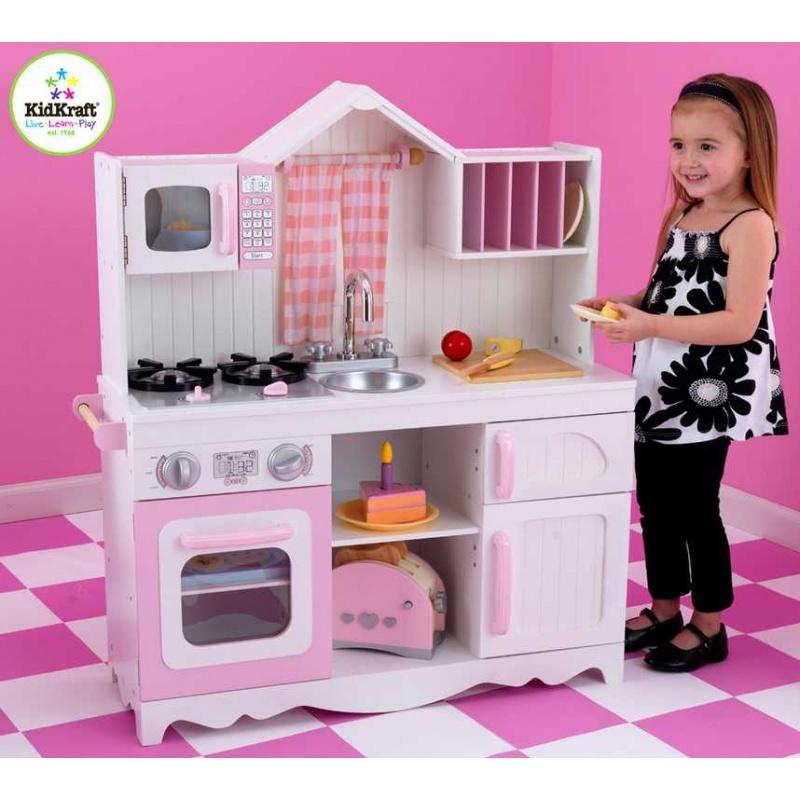 Drevené hračky - KidKraft Kuchynka Country