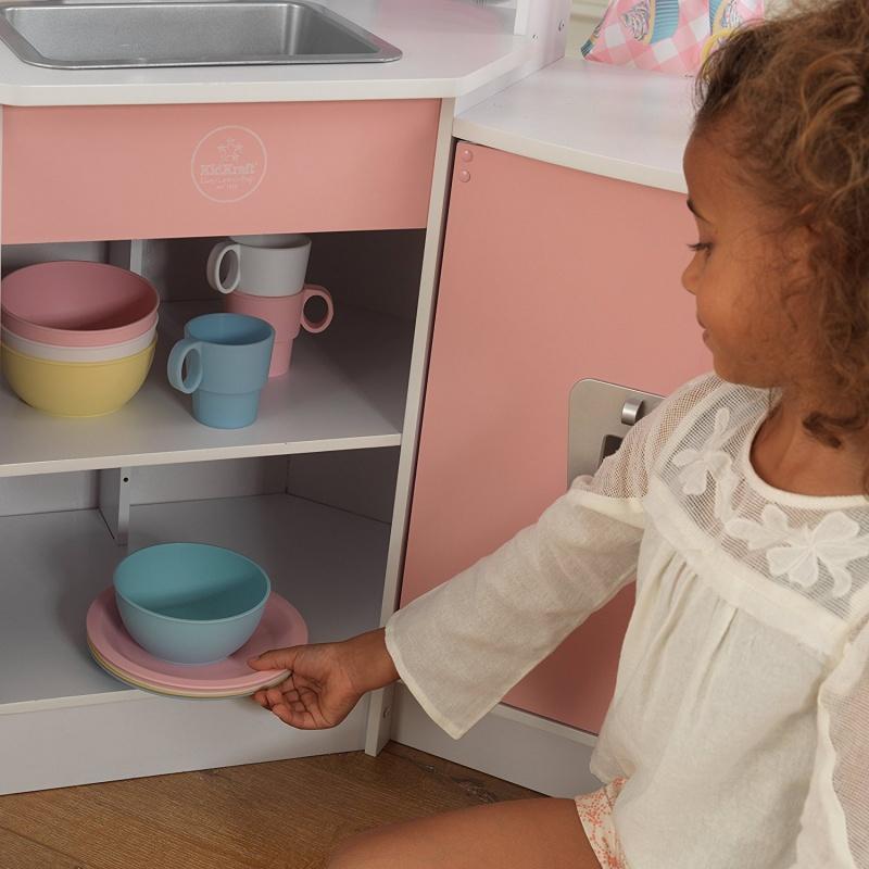 KidKraft dětská rohová kuchyňka deluxe