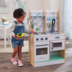 KidKraft Dřevěná kuchyňka  Let's Cook přírodní