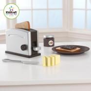 KidKraft Espresso Toster Set brązowy
