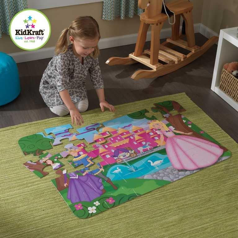 KidKraft velké papírové puzzle Princeznin zámek