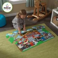 KidKraft velké papírové puzzle Záchranáři