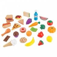 KidKraft - Sada potravin 30 ks