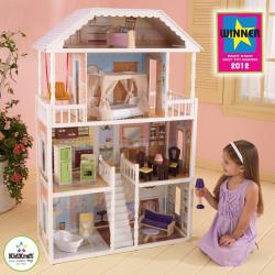Drevené hračky - KidKraft domček pre bábiky Savannah