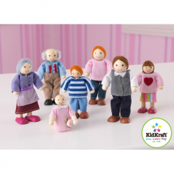 KidKraft bábiky rodina 7ks