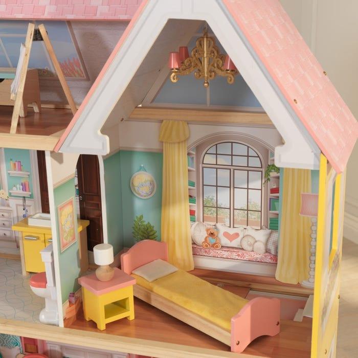 KidKraft Dřevěný domeček Lola Mansion