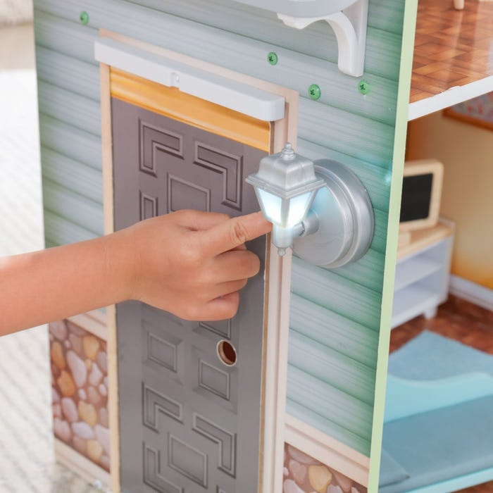 KidKraft Dřevěný domeček Hallie