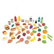 KidKraft - Sada potravin 65 ks