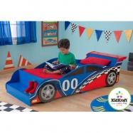 KidKraft Posteľ - Závodné auto