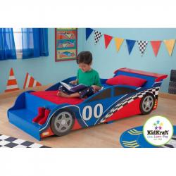 KidKraft Łóżko - Samochód wyścigowy