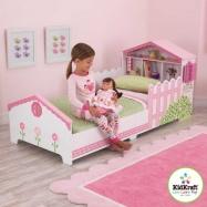 KidKraft Posteľ s domčekom pre bábiky