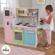 Dřevěné hračky - KidKraft Kuchyňka Pastel